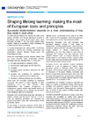 Shaping lifelong learning - application/pdf
