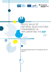 Added Value of National Qualifications Frameworks in Implementing the EQF - application/pdf
