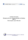 A bridge to the future European policy for vocational education and training 2002-10 - application/pdf