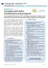 Europass 2005-2020 : Achievements and prospects - application/pdf